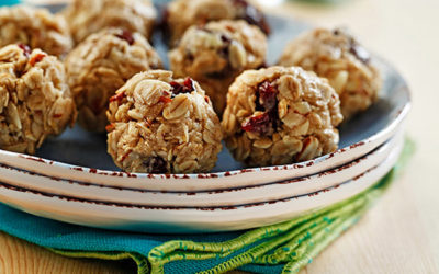 Cherry Almond Protein Energy Balls
